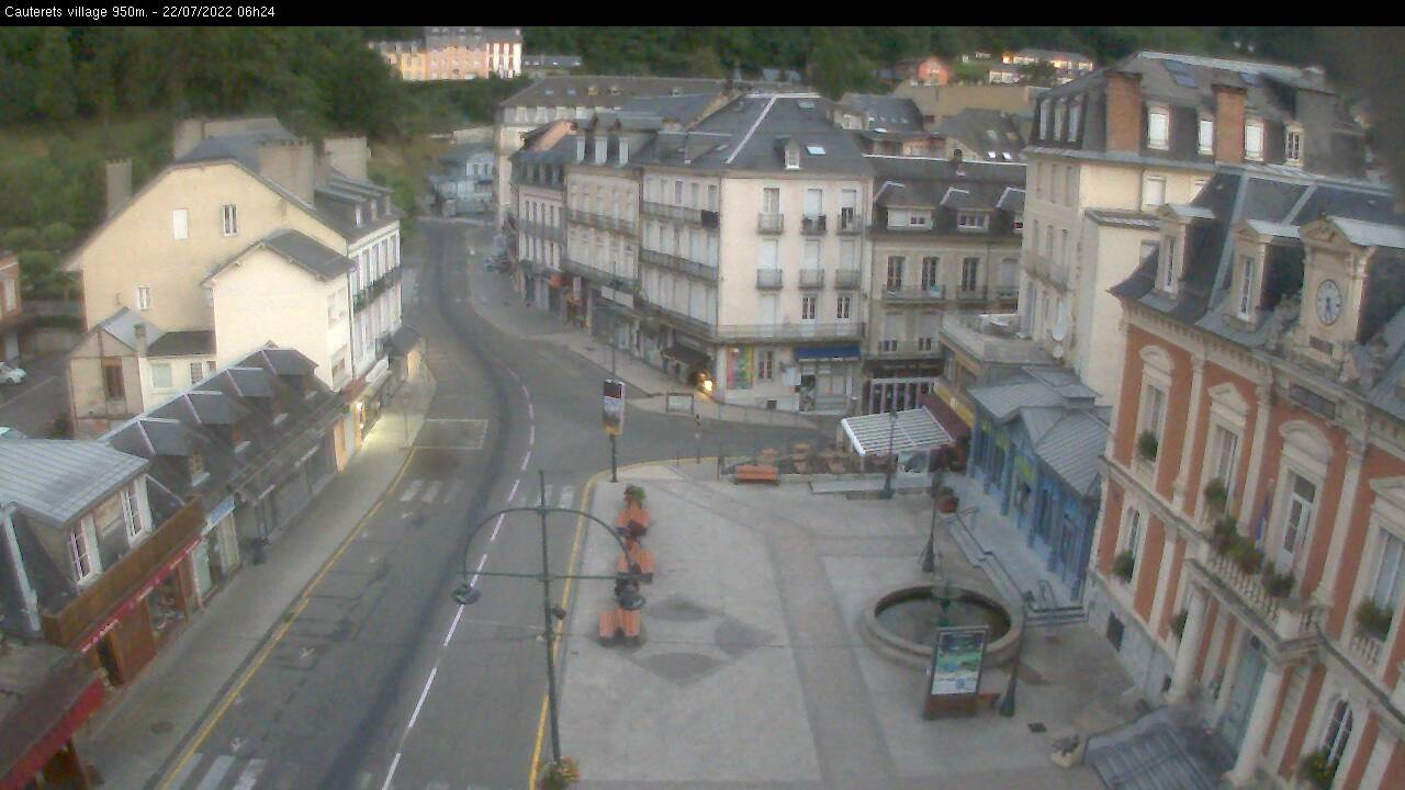 webcam Cauterets Village