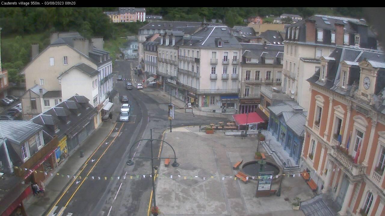 Webcam en Village, Cauterets (Hautes Pyrénées)